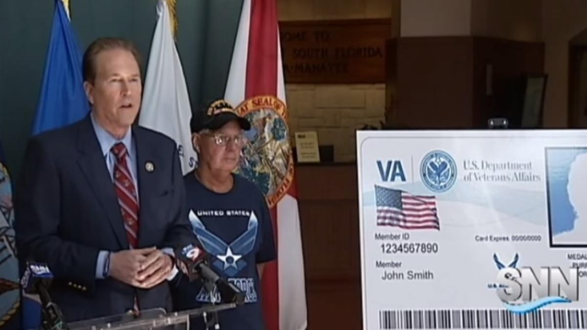 Buchanan ID Card for Veterans Unanimously Approved by Senate